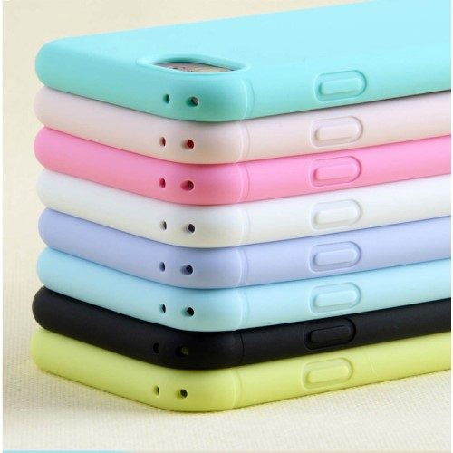 pastelkleur iphone8 iphone7 hoesje dun