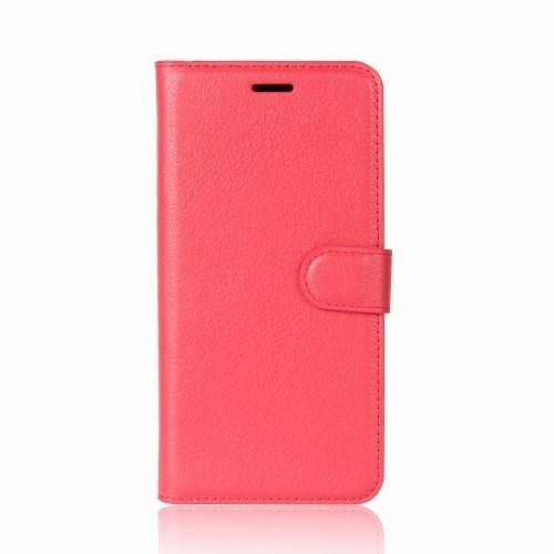 Wallet Book Case voor iPhone XR – Rood
