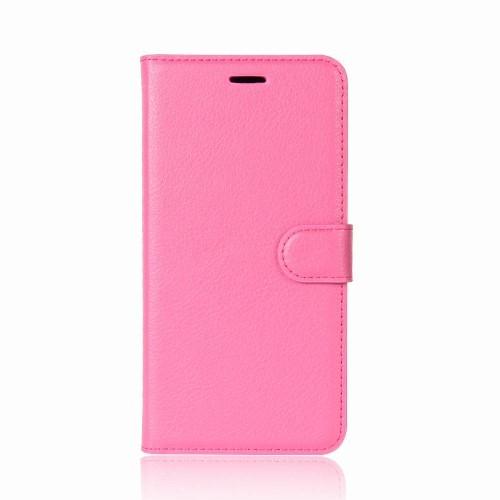 Wallet Book Case voor iPhone XR – Roze
