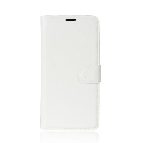Wallet Book Case voor iPhone XR – Wit