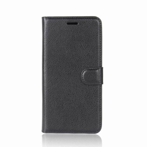 Wallet Book Case voor iPhone XR – Zwart