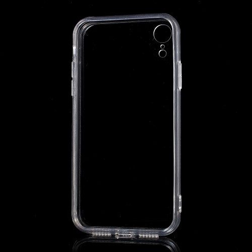 iphone xr transparant hoesje compleet
