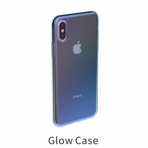 Glow case TPU voor iPhone XS / iPhone X