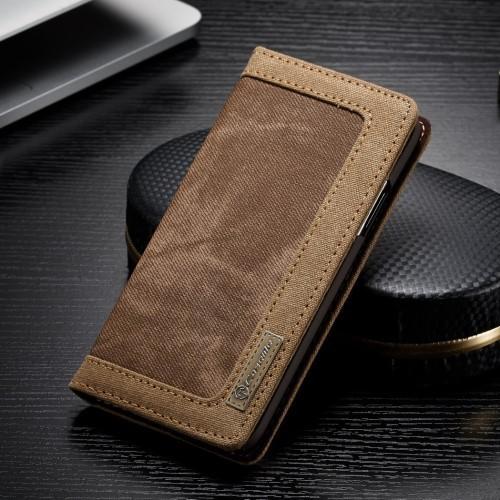 Caseme Wallet Case voor iPhone X / iPhone XS – Bruin