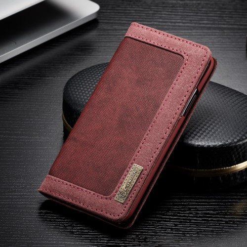 iphone xs-caseme-wallet-rood