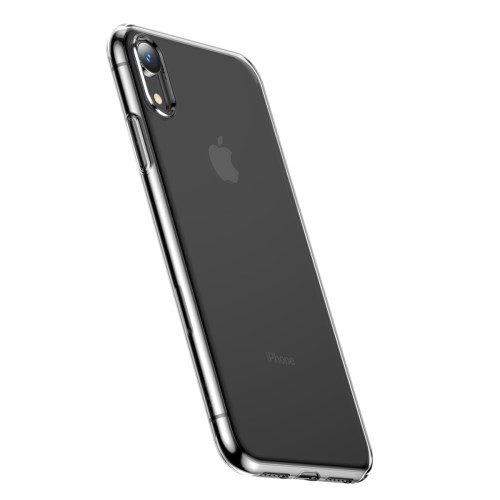 iphone xr baseus transparant hoesje