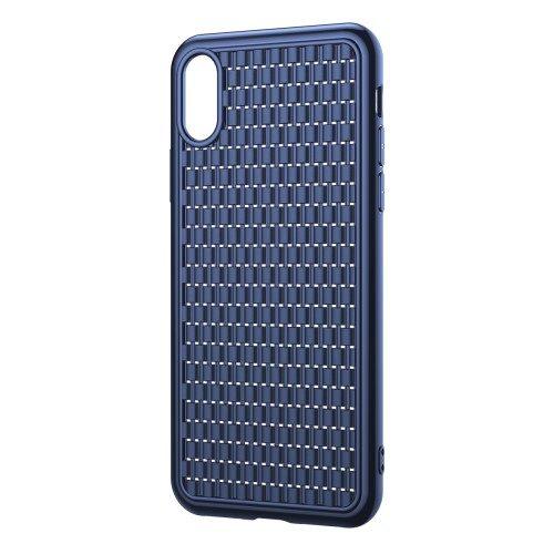 iphone xr blauw tpu hoesje baseus
