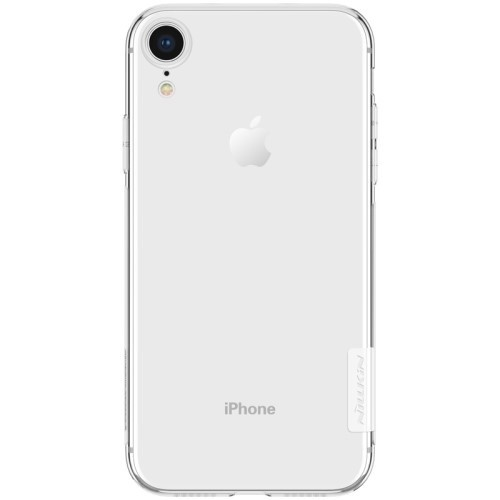 Transparant Nillkin 0,6mm TPU iPhone XR hoesje