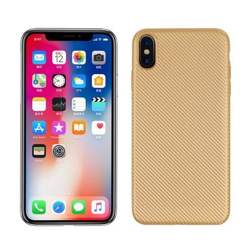 iPhone XS Max 6.5 inch TPU hoesje – Goud