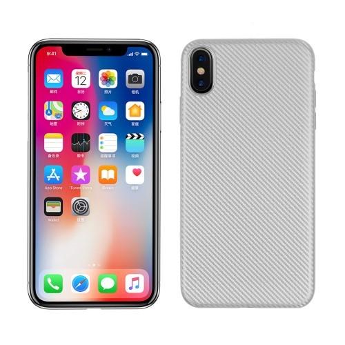 iPhone XS Max 6.5 inch TPU hoesje – Zilver