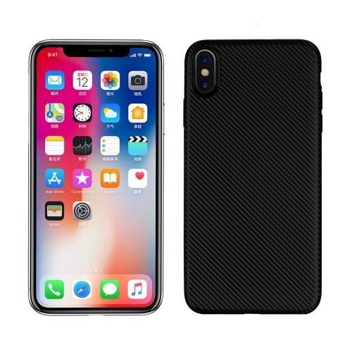 iPhone XS Max 6.5 inch TPU hoesje – Zwart