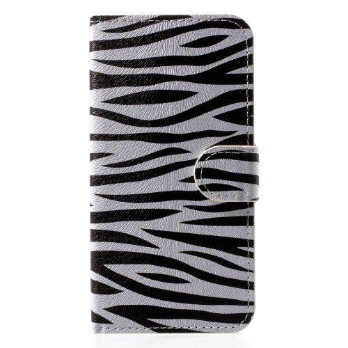 iphone x iphone xs zebraprint-hoesje