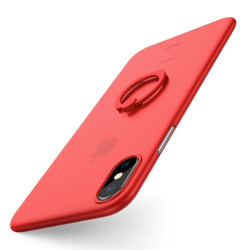 rock iphone x hoesje rood