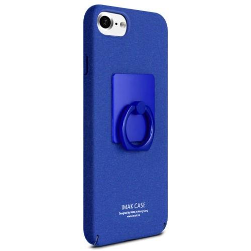 Blauw iPhone hoesje met kickstand ring