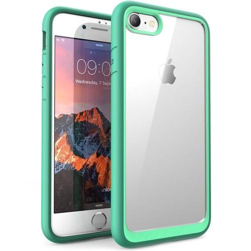 Transparant iPhone hoesje met gekleurde randen
