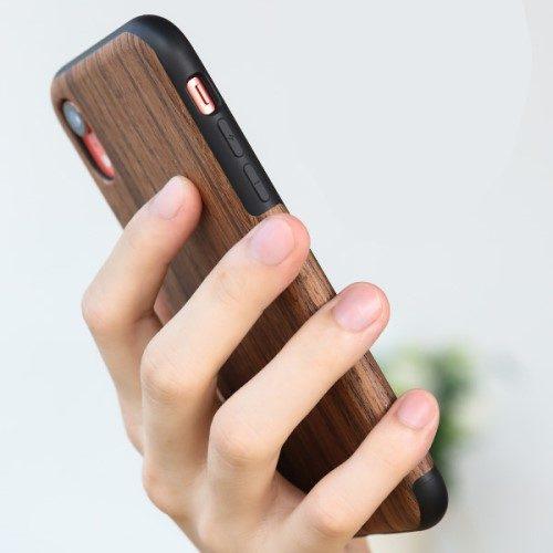 rock iphonexr case hout