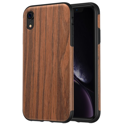 iPhone XR hoesje – hout met TPU