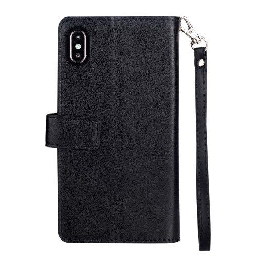 iphone xr portemonnee zwart