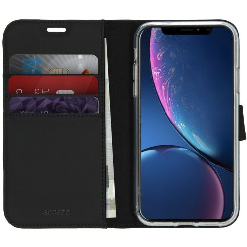 accezz booklet wallet black iphone 11 3