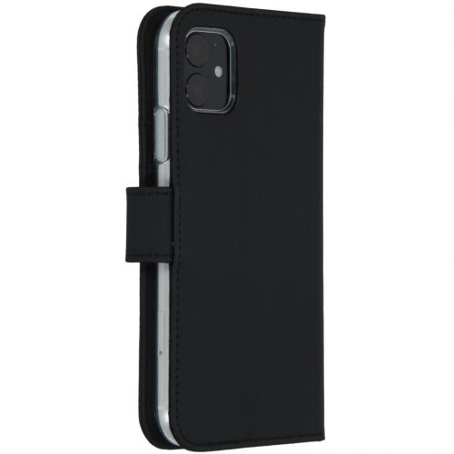accezz booklet wallet black iphone 11