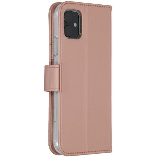 accezz booklet wallet rose gold iphone11