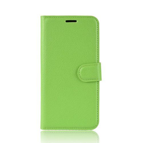Lederen Wallet Case voor iPhone 11 – Groen