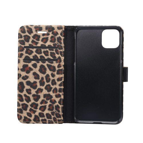 Wallet Case met luipaardprint voor iPhone 11