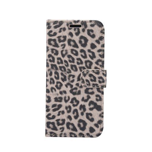 Wallet Case met luipaardprint voor iPhone 11 – Bruin
