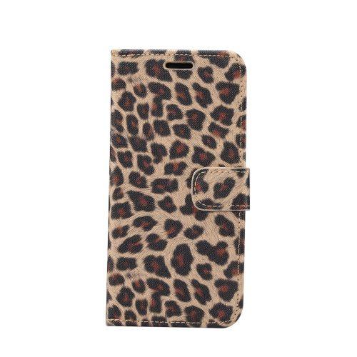 Wallet Case met luipaardprint voor iPhone 11 – Geel