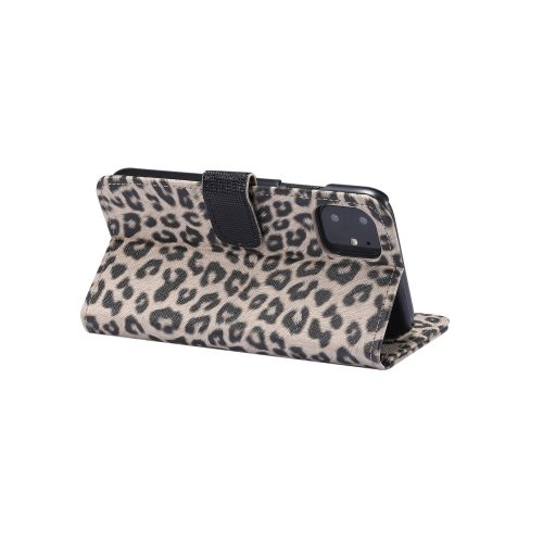 iphone11-walletcase-luipaardprint-standaard