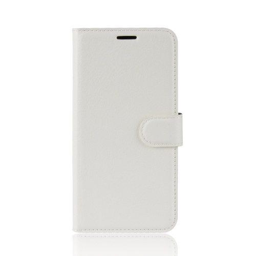 Lederen Wallet Case voor iPhone 11 – Wit