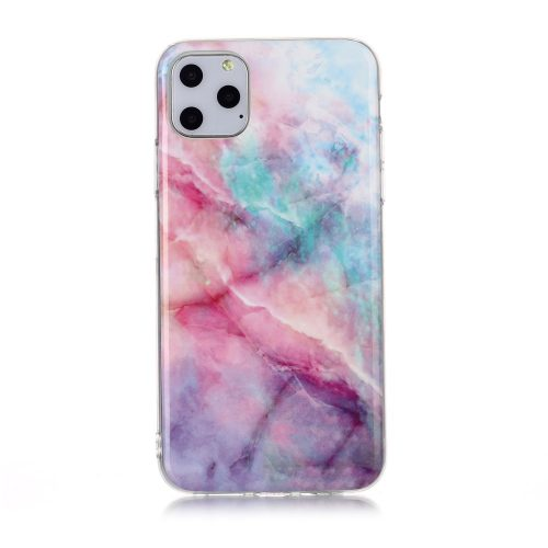 TPU Case Gekleurd Marmer iPhone 11 Pro