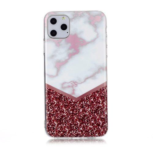 TPU Case Marmer met glitter voor iPhone 11 Pro