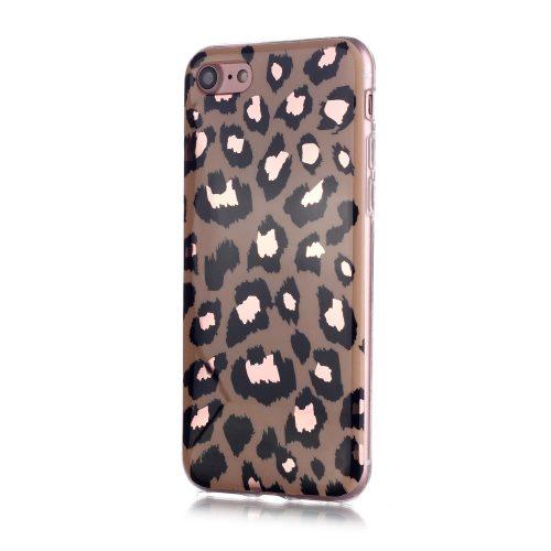 Designcase: luipaardpatroon voor iPhone SE 2020 / 8 / 7