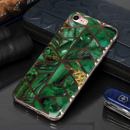 Designcase: marmerpatroon groen