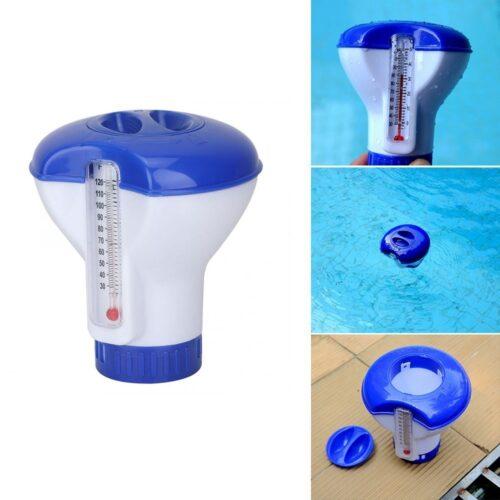 Zwembad Chloordrijver met thermometer