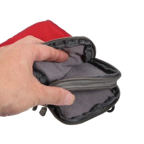 nylon opbergtasje binnenkant