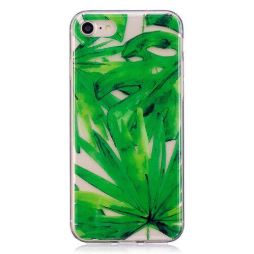 Hoesje met bladeren voor iPhone 7 / 8 / SE 2020