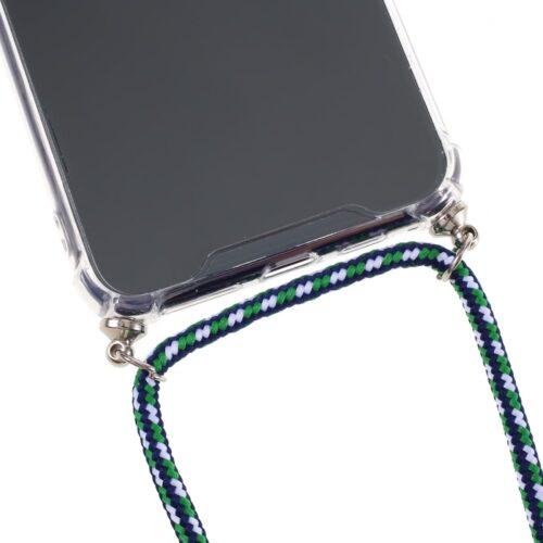 Transparant Hoesje met koord voor iPhone 11