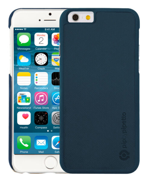 pipbypipetto-iphone6-saffiano-snap-blauw