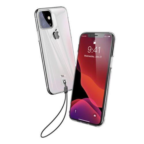 iphone 11 transparante case baseus