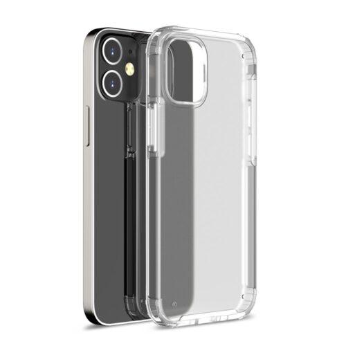 Mat iPhone 12 Pro Max hoesje – transparant