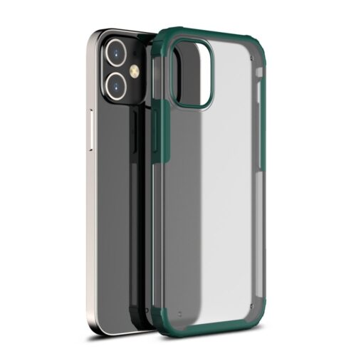 Mat iPhone 12 Pro Max hoesje – groen