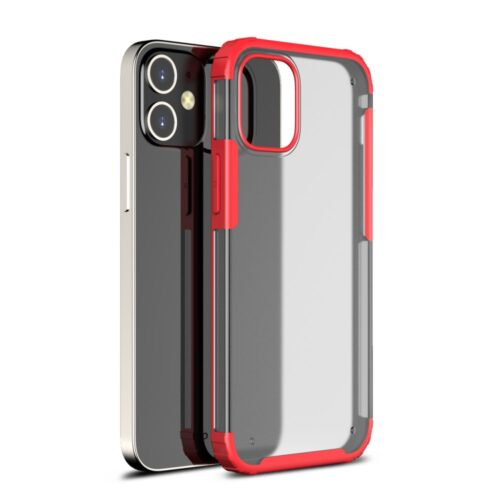 Mat iPhone 12 Pro Max hoesje – rood