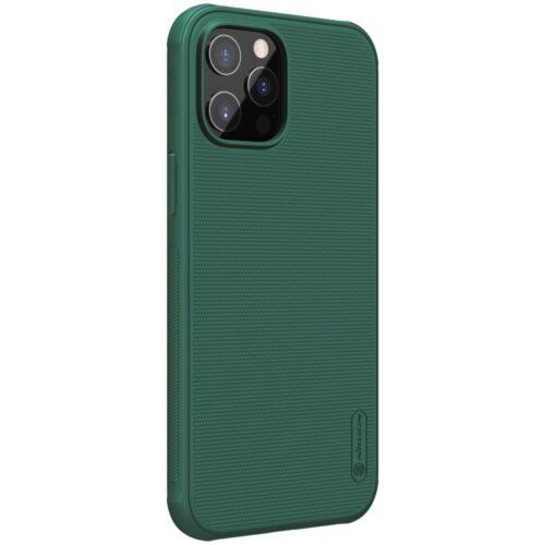 Nillkin Mat Plastic met TPU case voor iPhone 12 Pro / iPhone 12 – groen