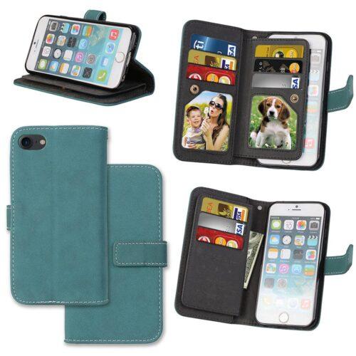 Wallet Case voor 9 pasjes voor iPhone SE 2020 / iPhone 8 / iPhone 7