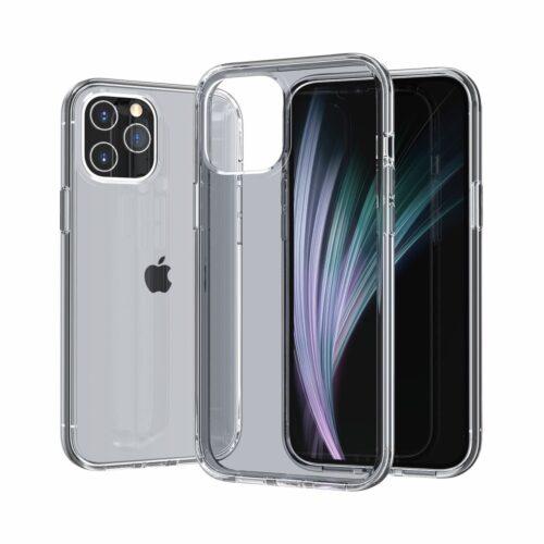 Transparant hoesje voor iPhone 12 Pro Max – grijs
