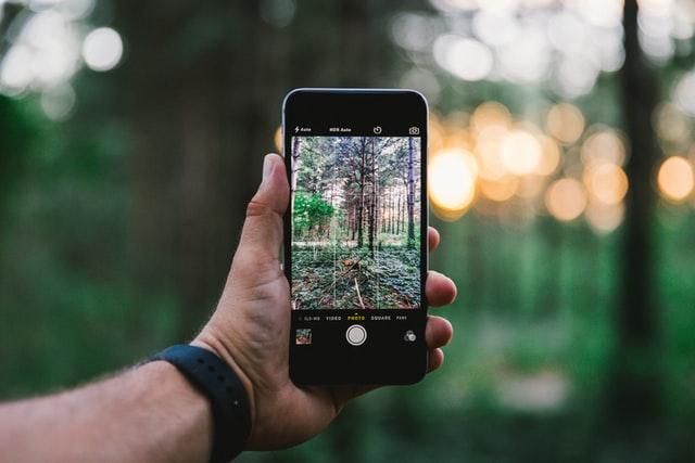 iphone fotografie regel van derden