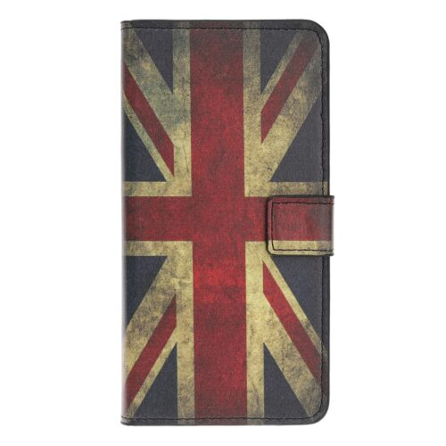 Wallet Case met retro Engelse vlag – iPhone 12 mini