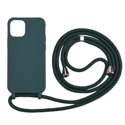 iphone12pro-hoesje-met-koord-donkergroen